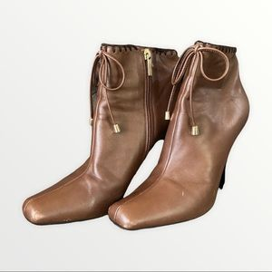 Jimmy Choo Ankle Boots   Brown